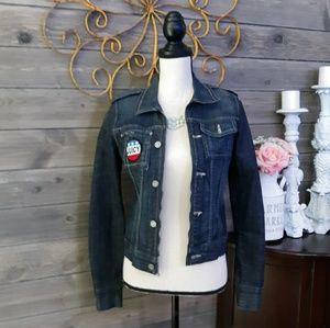 Juicy Couture Open Denim Jacket